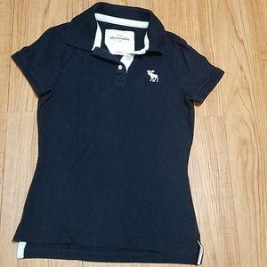 Abercrombie kids  polo shirts size L
